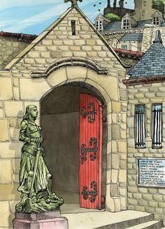 St Michel, France by Tommy Kane.