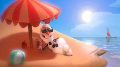 olaf the love summer