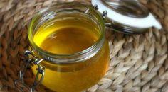 Přepuštěné máslo ghí Kefir, Moscow Mule Mugs, Pickles, Cucumber, Menu, Butter, Homemade, Tableware, Food