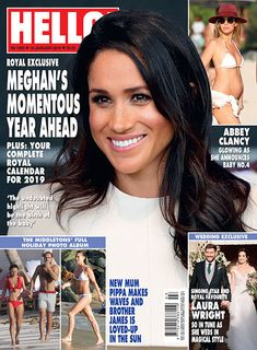 The full article is in Hello! Princess Meghan, Prince Harry And Meghan, Adele, Hello Uk, Hello Covers, Die Royals, Royals Today, Hello Magazine, Royal Christmas