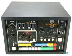 Roland drum machine (aka: the one from In The Air Tonight) Vintage Synth, Vintage Drums, Vintage Records, Vintage Keys, Vintage Music, Recording Equipment, Learn To Play Guitar, Drum Machine, Audio Sound