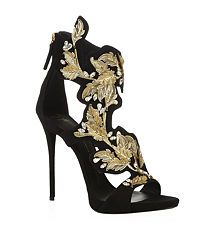 View the Coline Embellished Suede Sandals