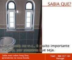 Escola Portuguesa de Feng Shui: SABIA QUE ... W.C.