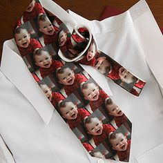 Photo Collage Personalized Men's Tie