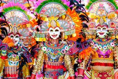 Bacolod City – known for its delicious Chicken Inasal and the colorful and lively Maskarra Festival. Check out the top 10 things to do in Bacolod here! Moriones Festival, Sinulog Festival, Cultura Filipina, Air Balloon Festival, Best Travel Credit Cards, Bacolod City, Tribal Warrior, Philippines Culture, Filipino Culture