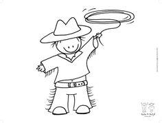 Rube & Rutje placemat cowboy -Eindelijk Thuis Zijn is een online webwinkel voor woon en keukenaccessoires.