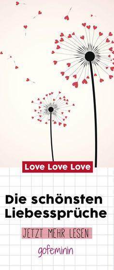 'Ich liebe dich' mal anders: Die schönsten Liebessprüche