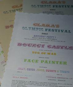 Daisy and Finn's Party Ideas. Big Top, Festival Party, Homework, Scissors, Envelopes, Cast Iron, Fonts, Neutral, Invitations