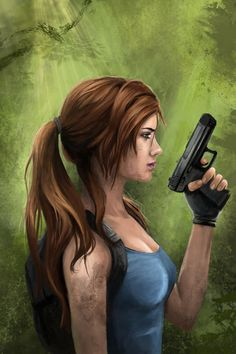 ms__croft__tomb_raider_20_year_anniversary_by_pencilsketches
