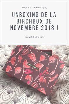 #birchbox #boxbeaute