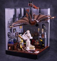 Leonard of Quirm's workshop by captainsmog, via Flickr