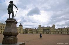 RU_150624 Venäjä_0055 Hatsinan palatsi Leningradin oblastissa Russia, Louvre, Building, Travel, Viajes, Buildings, Destinations, Traveling, Trips