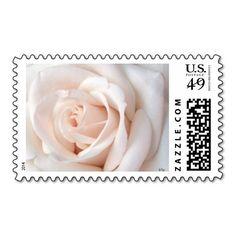 Wedding Rose Postage Stamps
