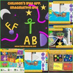 The Book Chook: Children's iPad App, Imagination Box - creative play for kids