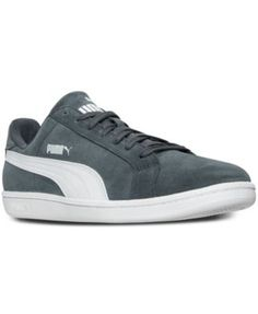 PUMA Puma Men's Smash Suede Leather Casual Sneakers from Finish Line. #puma  #shoes