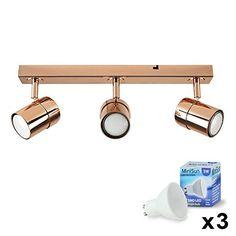 Modern 3 Way Copper Effect Straight Bar Ceiling Spotlight... https://www.amazon.co.uk/dp/B01C8ZJEA6/ref=cm_sw_r_pi_dp_x_WkYMybQZP7604