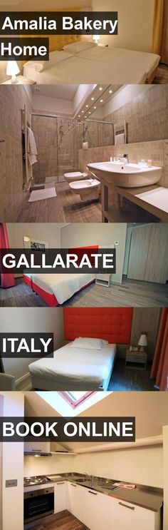 Hotel Amalia Bakery Home in Gallarate, Italy. For more information, photos, reviews and best prices please follow the link. #Italy #Gallarate #travel #vacation #hotel