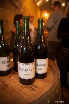 """""""Saboteur"""" a new blend of Luddite Wines #wine #SouthAfrica"""