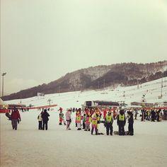 Holiday Inn & Suites Alpensia, Pyeongchang. Photo credit: Twitter user @pooreskimoboy