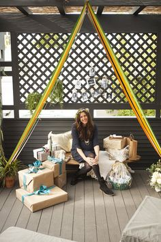 Bohemian California baby shower | Shop. Rent. Consign. Gently used designer maternity brands you love at up to 90% off retail! MotherhoodCloset.com Maternity Consignment online superstore.