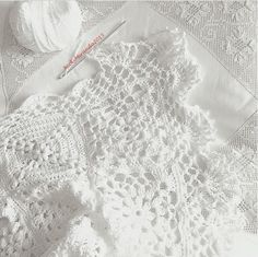 2012 work in progress Plaid Crochet, Filet Crochet, Crochet Motif, Crochet Flowers, Crochet Baby, Knit Crochet, Crochet Patterns, Linens And Lace, Crochet Squares
