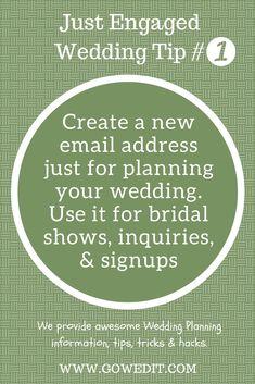 Wedding Planning Tips Tricks Hacks Time Budget Saving Ideas