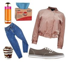 """stranger things inspired look"" by shitpie ❤ liked on Polyvore featuring PèPè, Vans, Prada and StrangerThings"