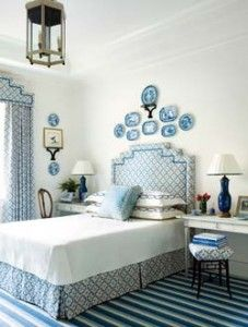 The Hy House Manifesto Bedside Desks My Nightstand Is Always Over Flowing Renee Williams Blue And White Bedrooms