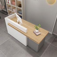 Cashier Counter Design, Office Counter Design, Shop Counter Design, Office Cabin Design, Dental Office Design, Office Interior Design, Office Interiors, Curved Reception Desk, Reception Desk Design