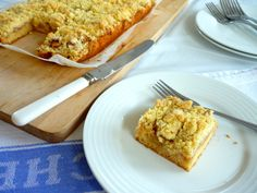 Polish Apple Pie Bars (Szarlotka)