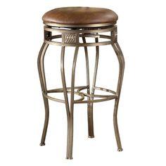 Hillsdale Furniture 4361-8 Montello Backless Swivel Bar Stool
