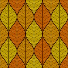 symmetric sine leaf 3 - autumn custom fabric by sef for sale on Spoonflower Rug Hooking, Home Decor Items, Surface Design, Custom Fabric, Spoonflower, Craft Projects, Sine Wave, Clip Art, Diy Crafts