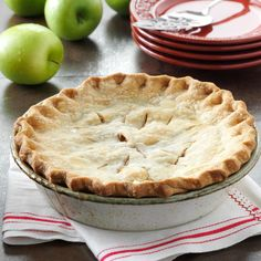 Washington State Apple Pie Recipe -This pie won Grand Champion in the Apple Pie category at the 1992 Okanogan County Fair. The pie looks traditional, but making your own filling gives it a different flair and great taste. —Dolores Scholz, Tonasket, Washington