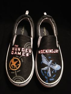 The Hunger Games Custom Shoes
