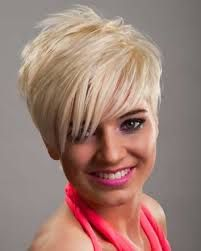Image result for short hairstyles with fringe 2014