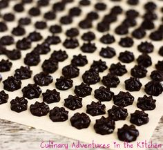 Healthy Homemade Chocolate Chips {Culinary Adventures in the Kitchen}
