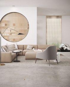 Cozy Modern Minimalist Living Room Design Ideas for Inspiration - Modern Interior Design Home Design, Design Salon, Deco Design, Design Ideas, Design Guidelines, Design Blogs, Bedroom Minimalist, Modern Minimalist Living Room, Minimalist Interior