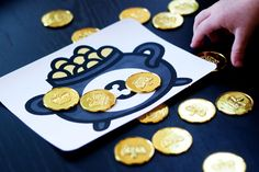 Free download of Counting Leprechaun Gold activity