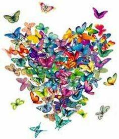 Cuore farfalle