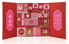 Yes, I said The Body Shop Advent Calendars as in plural! This year the Body Shop Advent Calendars will be available in three different sizes with three Countdown Calendar, Holiday Calendar, Calendar 2020, Advent Calendars, Body Shop Christmas, Christmas Design, Christmas Fun, Christmas Cards, The Body Shop