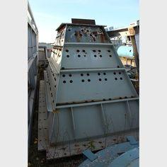 Proveedores de Tolva de Acero a nivel mundial - Tolva de Acero 8 pies x 18 pies x 9 pies usado a la venta - Savona Equipment