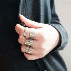 I find an excellent product on @BornPrettyStore, 5pcs Ring Fashion Metal Punk Style Knuckle Ri... at $1.98. http://www.bornprettystore.com/-p-6431.html