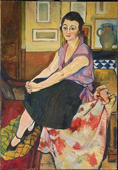 Suzanne Valadon-Maria Lani-1928