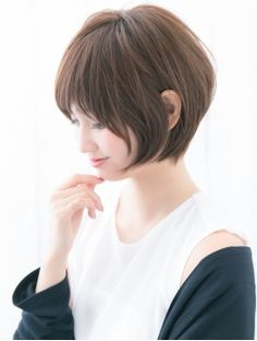 ニュートラルプロデュースドバイガーデン(NEUTRAL produced by GARDEN) 「neutral」戸崎亨祐 大人ショートボブ サイドフリンジバング Haircuts For Medium Length Hair, Short Hair Cuts, Short Hair Styles, Japanese Haircut, Joico Color, Salt And Pepper Hair, Asian Hair, Hair 2018, Cute Hairstyles
