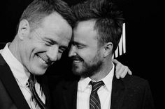 Bryan Cranston + Aaron Paul >>> Walter White: [while Jesse has a gun pointed at him] Do it. You want this.  Jesse Pinkman: Say the words! Say YOU want this! Nothing happens until I hear you say it.  Walter White: I want this.  Jesse Pinkman: [notices blood visible from Walt's chest, drops the gun] Then do it yourself.