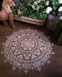 Image result for floor mandala