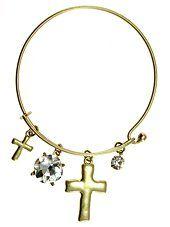 Womens Jewelry, Cross, Gold Tone Metal Hook Bangle w/ Ass... https://www.amazon.com/dp/B00WX7JDII/ref=cm_sw_r_pi_dp_x_CFxuybZ1AXBW1