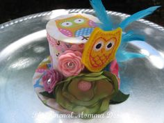 Over the Top Alice In Wonderland Owl Birthday Hat  by PMDBoutique, $22.00