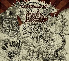 The Monday Grind: ŁEB PROSIAKA / NUCLEAR HOLOCAUST Split Is A Fusion Of Weird And Old School Grind