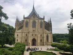**Cathedral of St. Saint Barbara, Online Tickets, Czech Republic, Notre Dame, Barcelona Cathedral, Trip Advisor, Castle, Mansions, Architecture